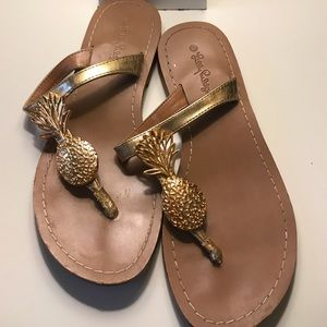 Lilly Pulitzer for Target Pineapple flip flops 6